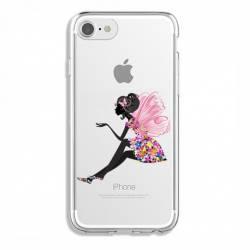 Coque transparente Iphone 7 / 8 magique fee fleurie