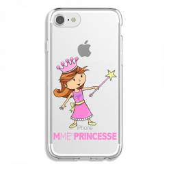Coque transparente Iphone 7 / 8 magique mme princesse