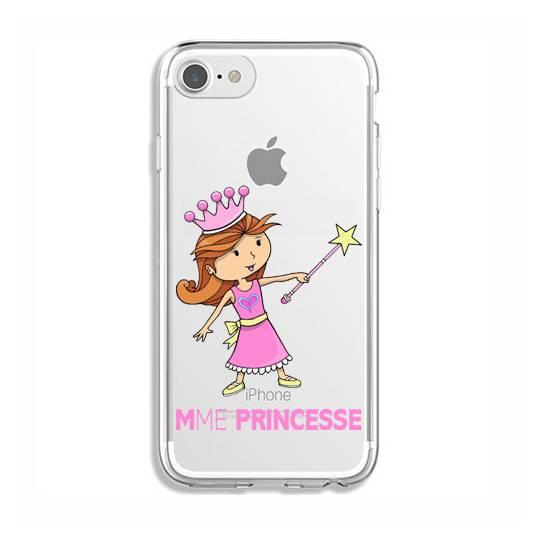 Coque transparente Iphone 7 / 8 magique mme princesse