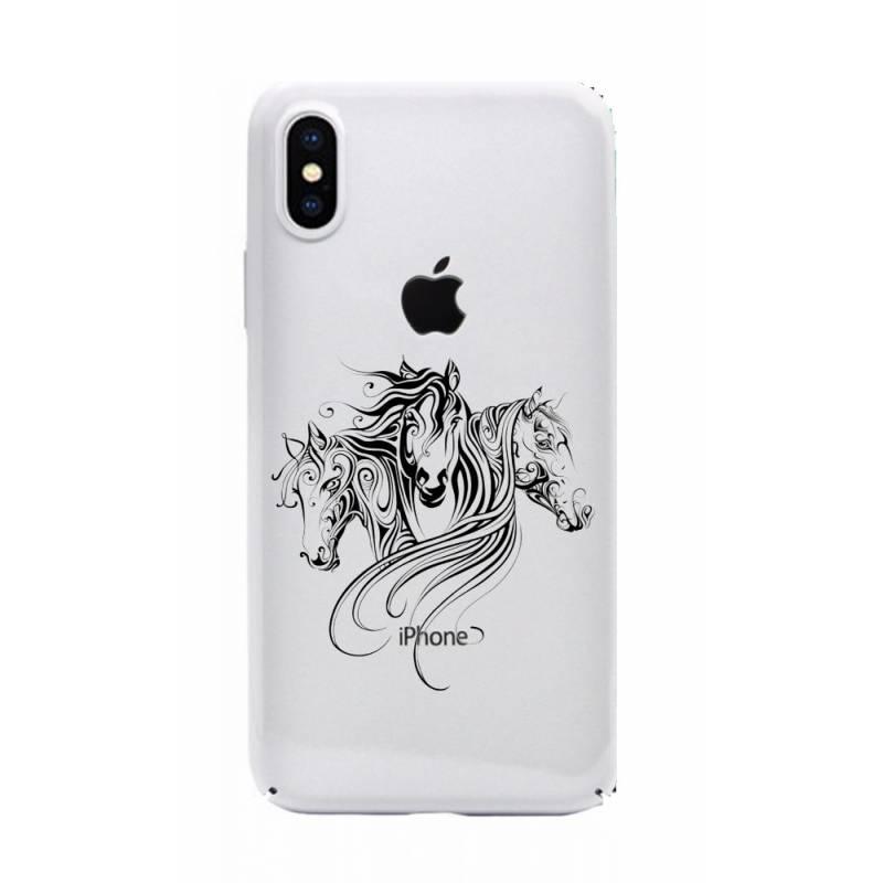 iphone x coque cheval
