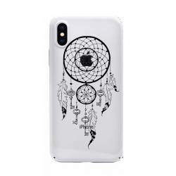 Coque transparente Iphone X feminine attrape reve cle