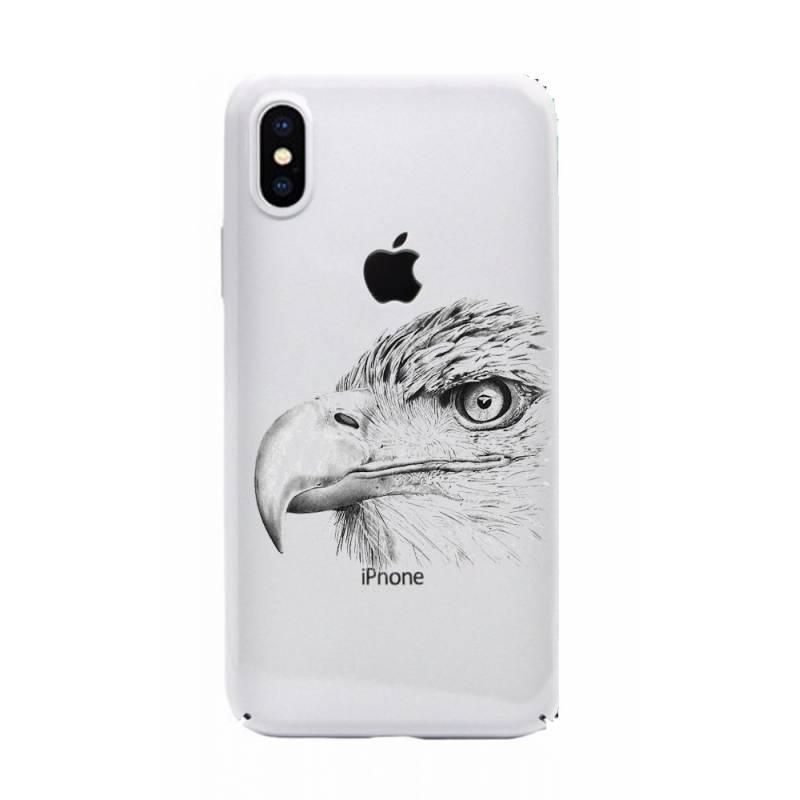 Coque transparente Iphone X aigle