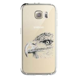 Coque transparente Samsung Galaxy S8 Plus + aigle