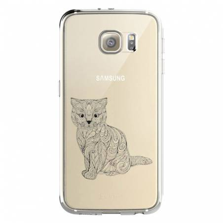 Coque transparente Samsung Galaxy S8 Plus + chat
