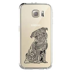 Coque transparente Samsung Galaxy S8 Plus + chien