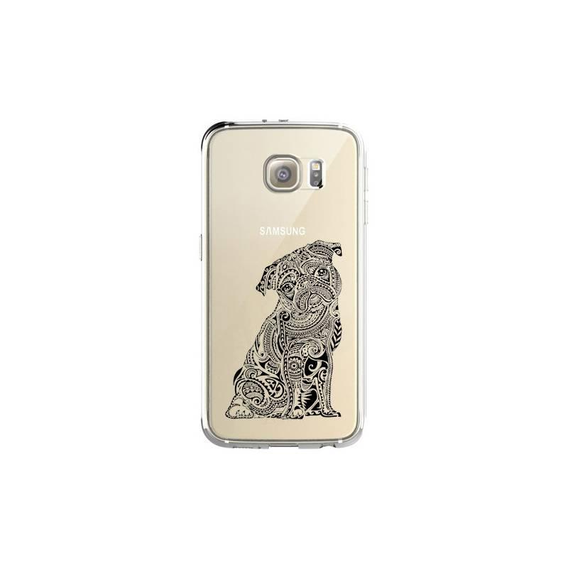 Coque transparente pour Samsung Galaxy S8 Plus + chien
