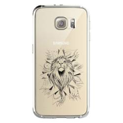 Coque transparente Samsung Galaxy S8 Plus + lion