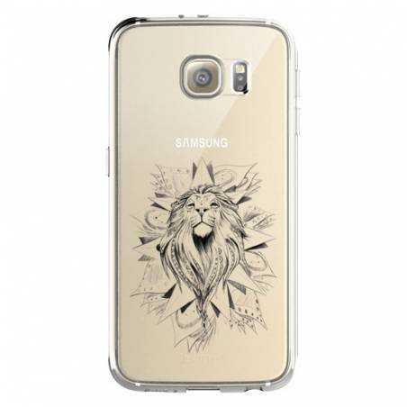 Coque transparente Samsung Galaxy S8 Plus + lion