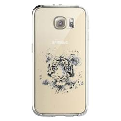 Coque transparente Samsung Galaxy S8 Plus + tigre