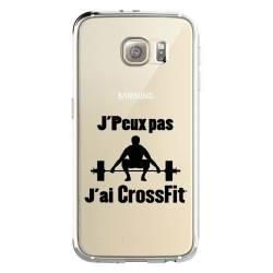Coque transparente Samsung Galaxy S8 Plus + jpeux pas jai crossfit