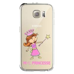 Coque transparente Samsung Galaxy S8 Plus + magique mme princesse
