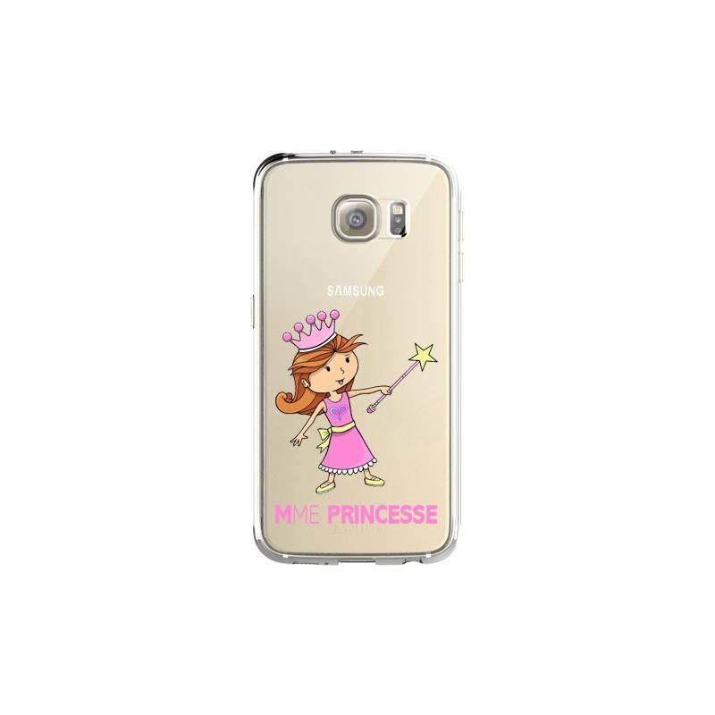 Coque transparente Samsung Galaxy S8 Plus + magique mme princesse