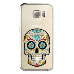 Coque transparente Samsung Galaxy S8 Plus + tete mort