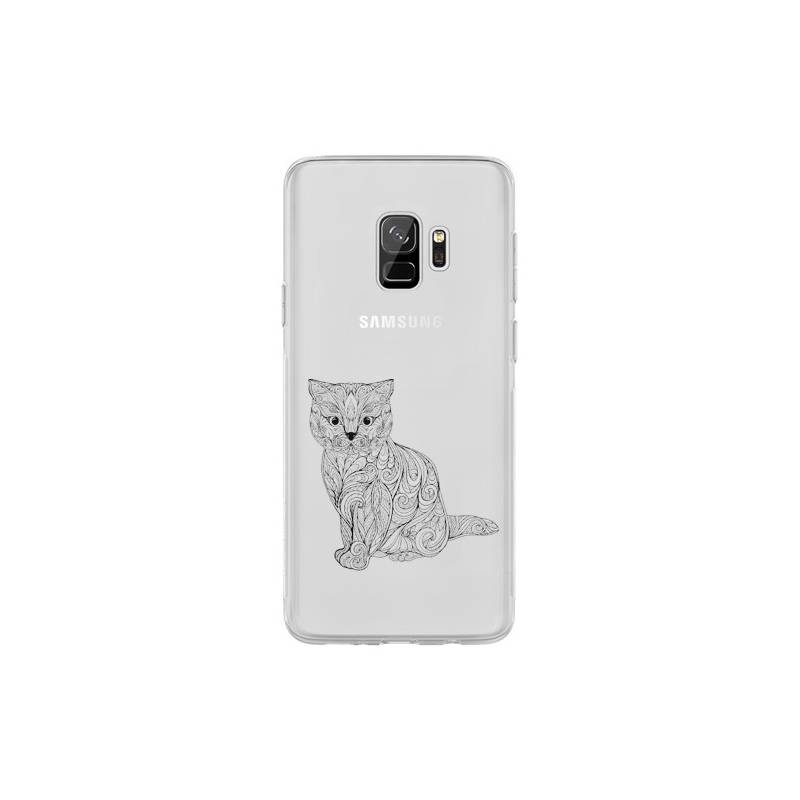 Coque transparente Samsung Galaxy S9 chat