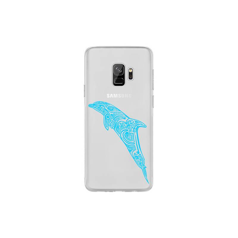 Coque transparente Samsung Galaxy S9 dauphin