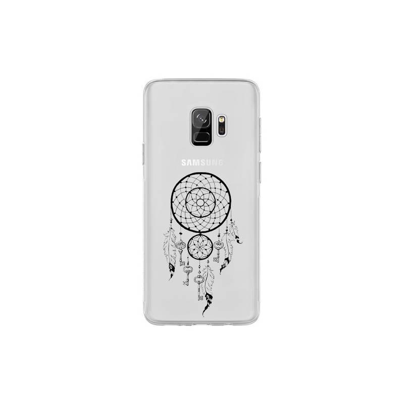 Coque transparente Samsung Galaxy S9 feminine attrape reve cle