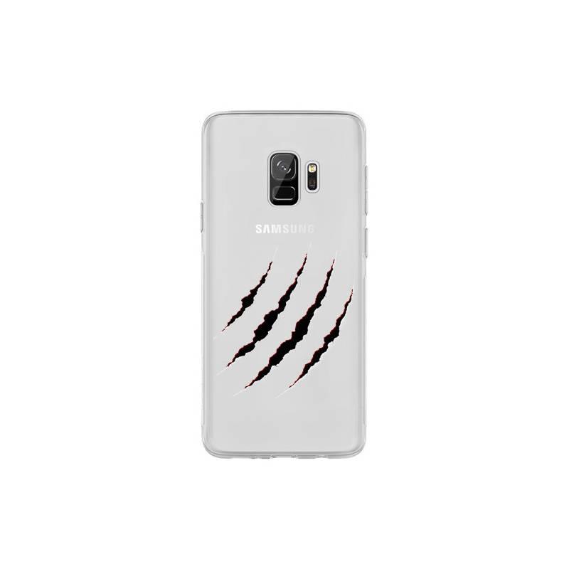 Coque transparente Samsung Galaxy S9 griffure