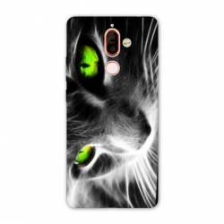 Coque Nokia 7 Plus animaux