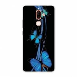 Coque Nokia 7 Plus papillons