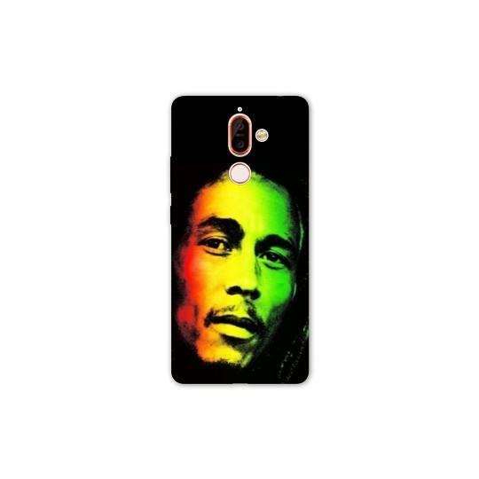 Coque Nokia 7 Plus Bob Marley