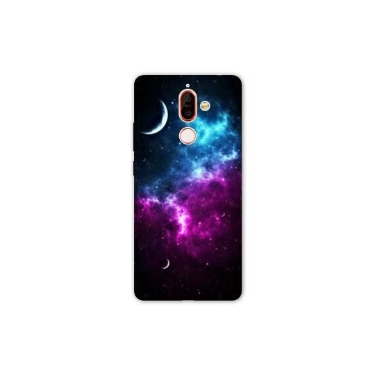 Coque Nokia 7 Plus Espace Univers Galaxie