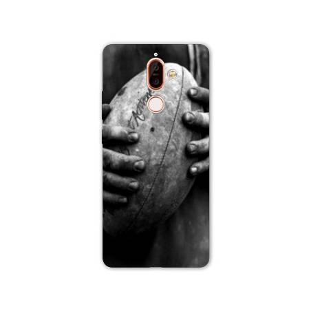Coque Nokia 7 Plus Rugby