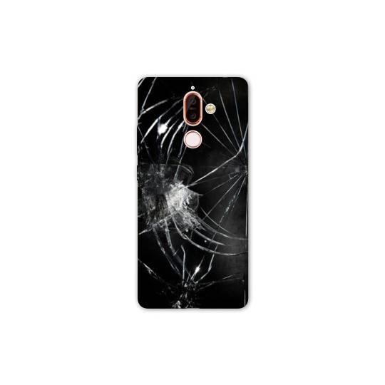 Coque Nokia 7 Plus Trompe oeil