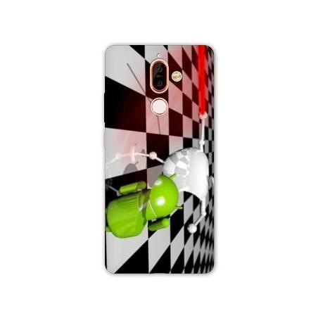Coque Nokia 7 Plus apple vs android