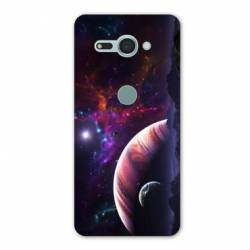 Coque Sony Xperia XZ2 COMPACT Espace Univers Galaxie