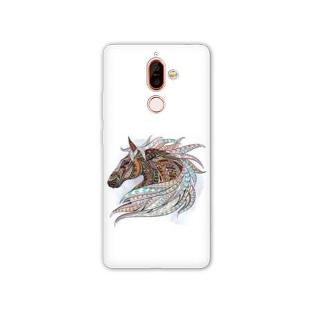 Coque Nokia 7 Plus Animaux Ethniques