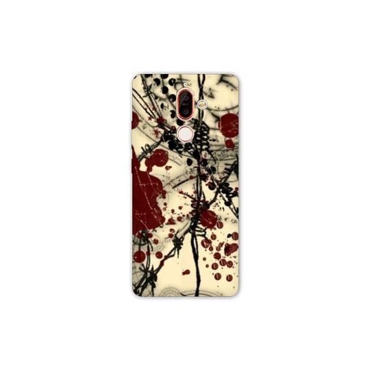 Coque Nokia 7 Plus Grunge