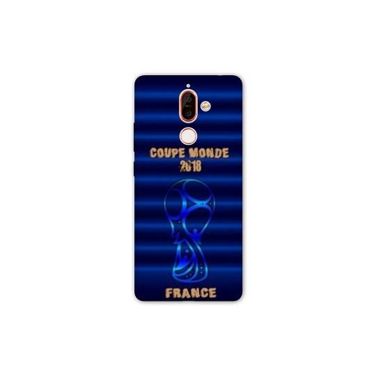 Coque Nokia 7 Plus coupe monde football 2018