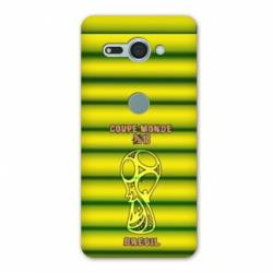 Coque Sony Xperia XZ2 COMPACT coupe monde football 2018