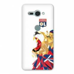 Coque Sony Xperia XZ2 COMPACT License Olympique Lyonnais OL - lion color