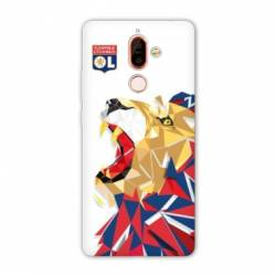 Coque Nokia 7 Plus License Olympique Lyonnais OL - lion color