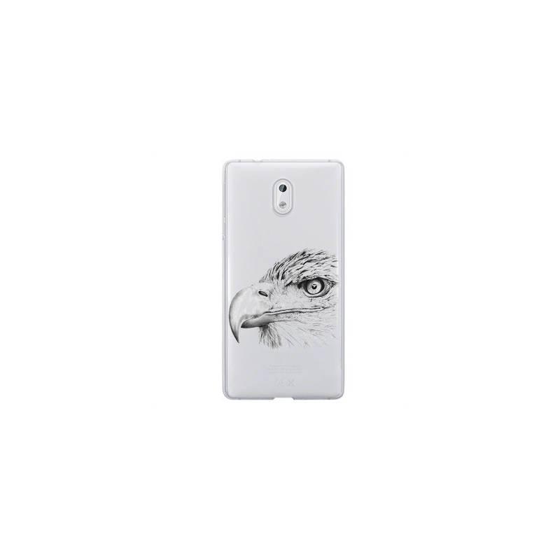 Coque transparente Nokia 2 aigle