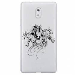Coque transparente Nokia 2 chevaux