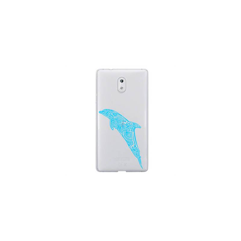 Coque transparente Nokia 2 dauphin