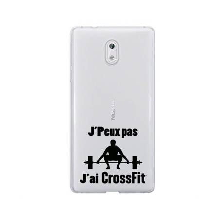 Coque transparente Nokia 2 jpeux pas jai crossfit