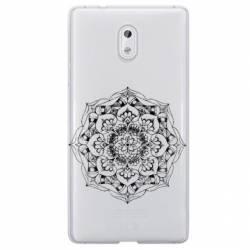 Coque transparente Nokia 2 mandala noir