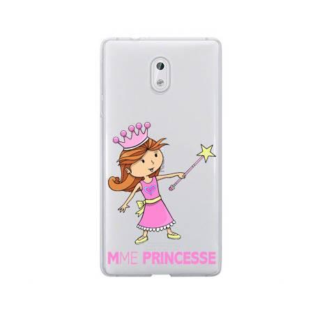 Coque transparente Nokia 2 magique mme princesse