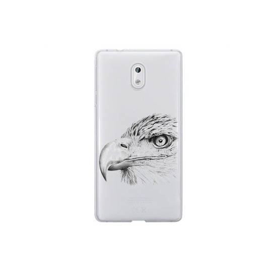 Coque transparente Nokia 3 aigle
