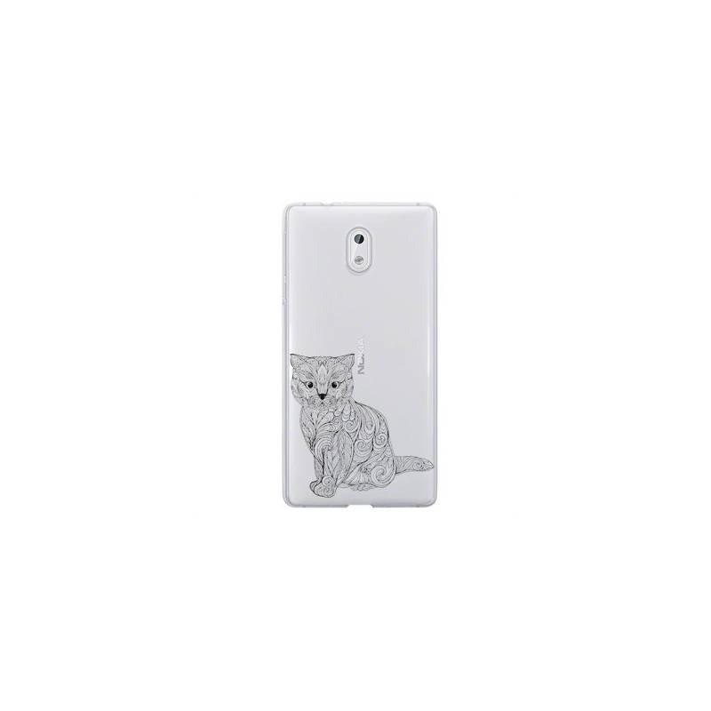 Coque transparente Nokia 3 chat