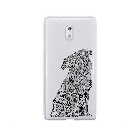 Coque transparente Nokia 3 chien