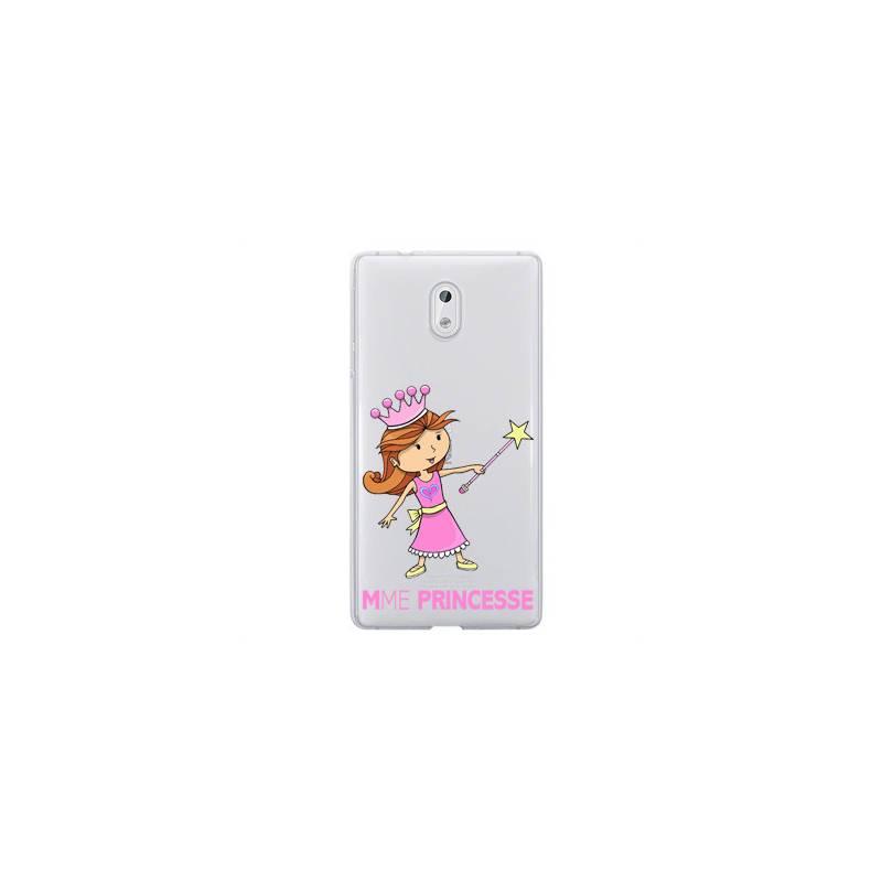 Coque transparente Nokia 3 magique mme princesse