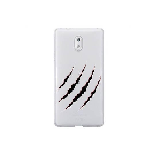 Coque transparente Nokia 3 griffure