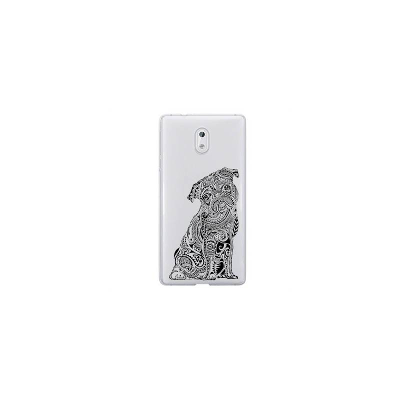 Coque transparente Nokia 6 chien