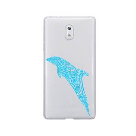 Coque transparente Nokia 6 dauphin