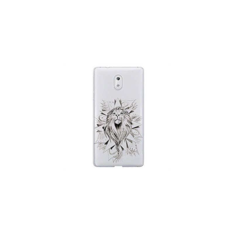 Coque transparente Nokia 6 lion