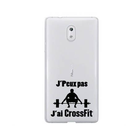 Coque transparente Nokia 6 jpeux pas jai crossfit